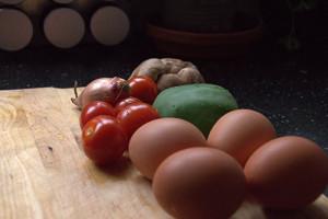 Omelet ingrediënten