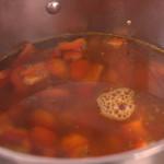 paprikasoep met groentebouillon