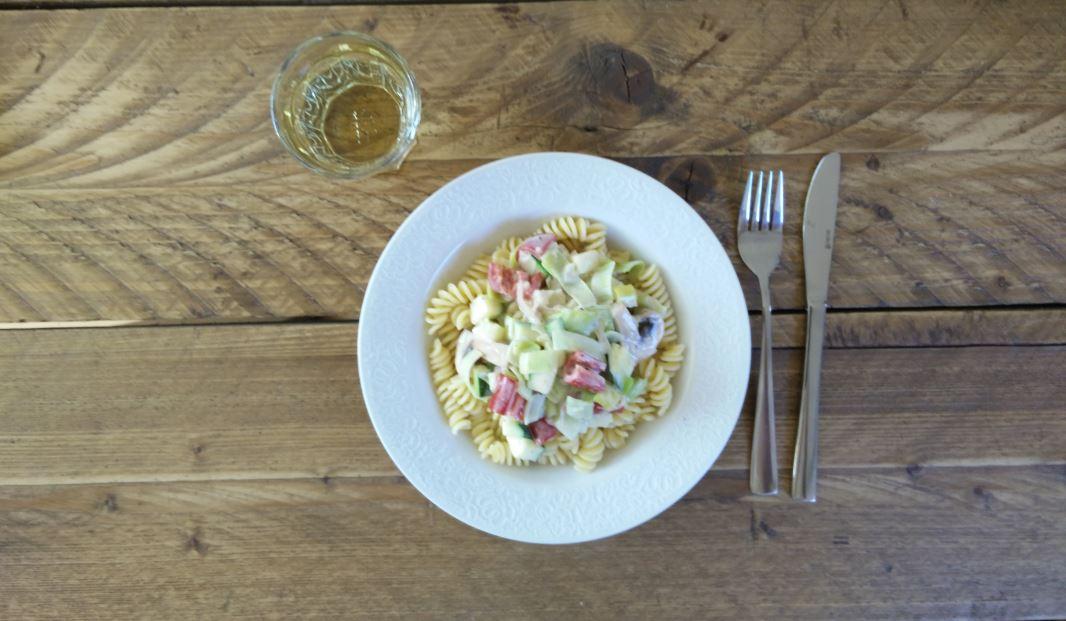 pasta met room eindresultaat 2