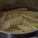 patat wassen