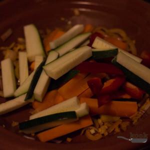 Pangasius met groenten