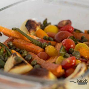 gegrilde groente