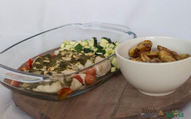 kipfilet met pesto