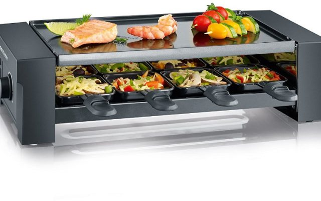 Severin RG 2687 Pizza-Raclette grill groot